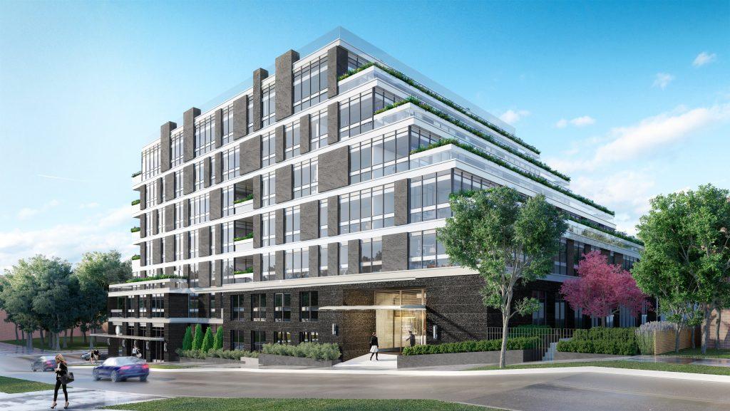 avenue + park rendering