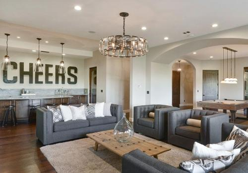 steph curry living area