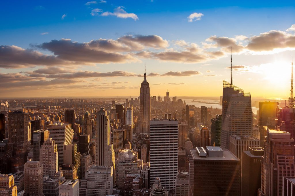 Manhattan New York City Sunrise