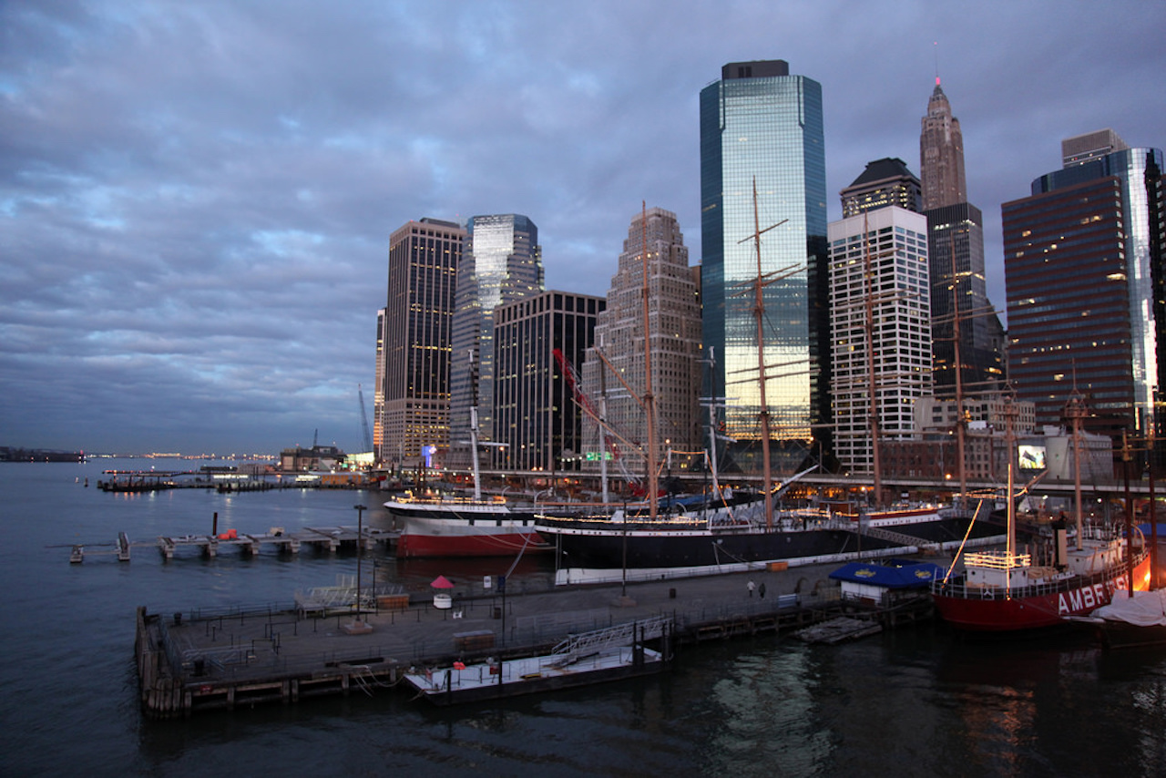 Manhattan NYC South STreet