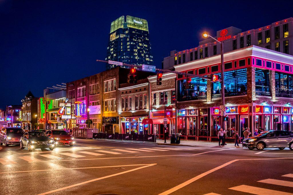 Nashville TN downtown