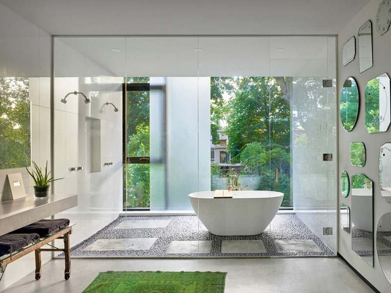 bath and shower-compressed