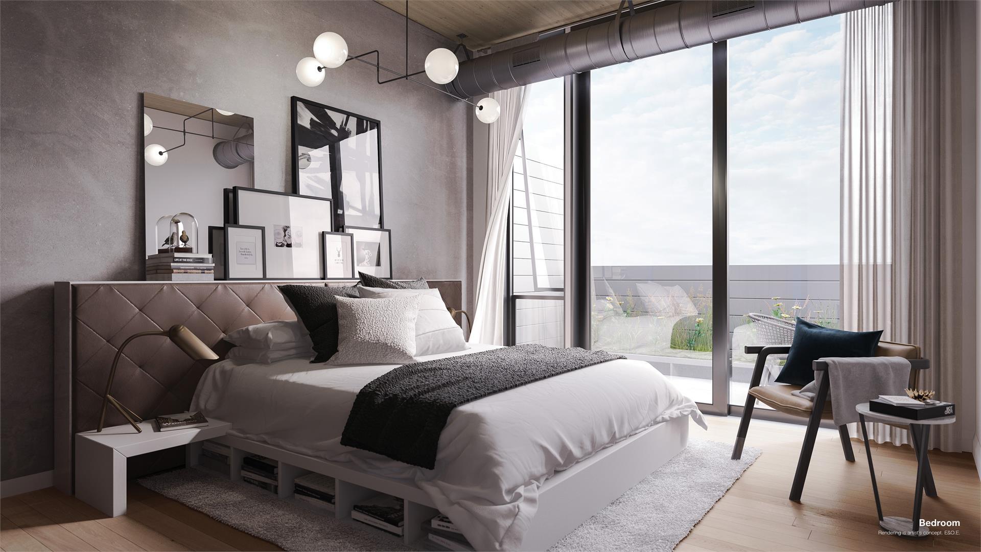 1001QueenEastLofts_Bedroom