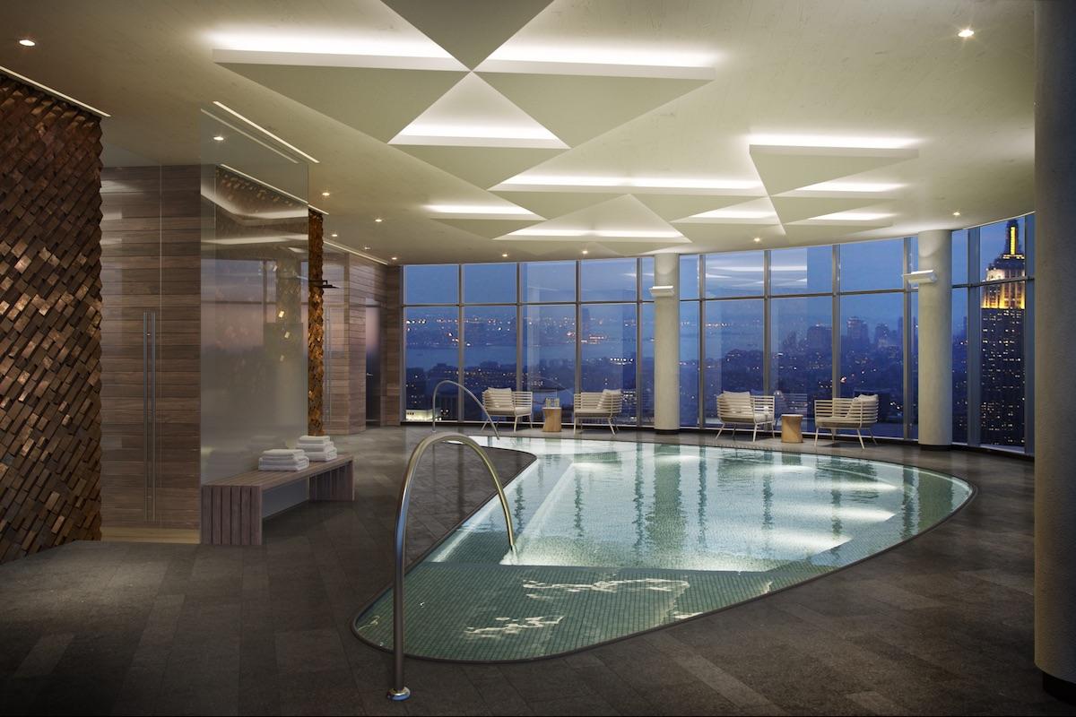 House 39 indoor pool