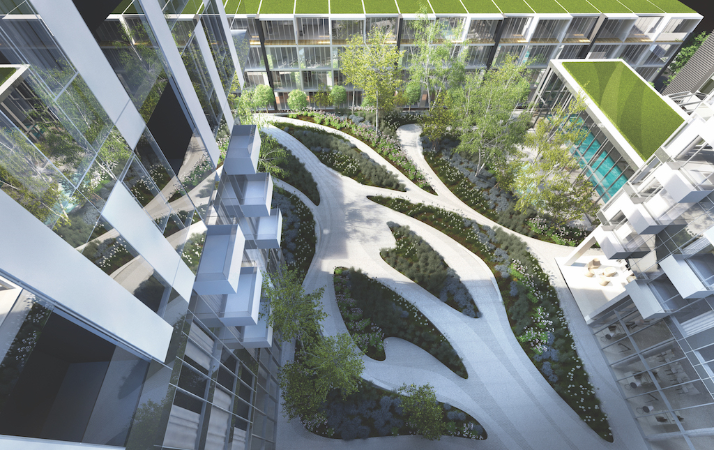 YUL_Amenties_Garden_Aerial view