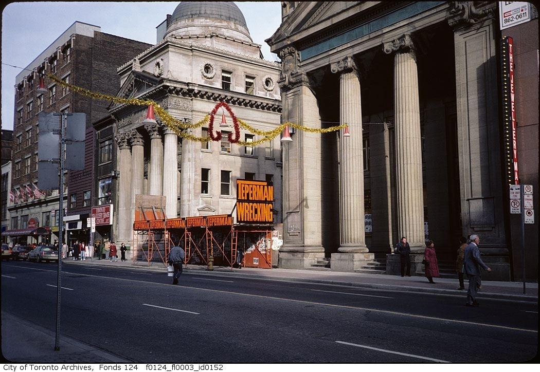 Historic Downtown Toronto Bank Listed For 1