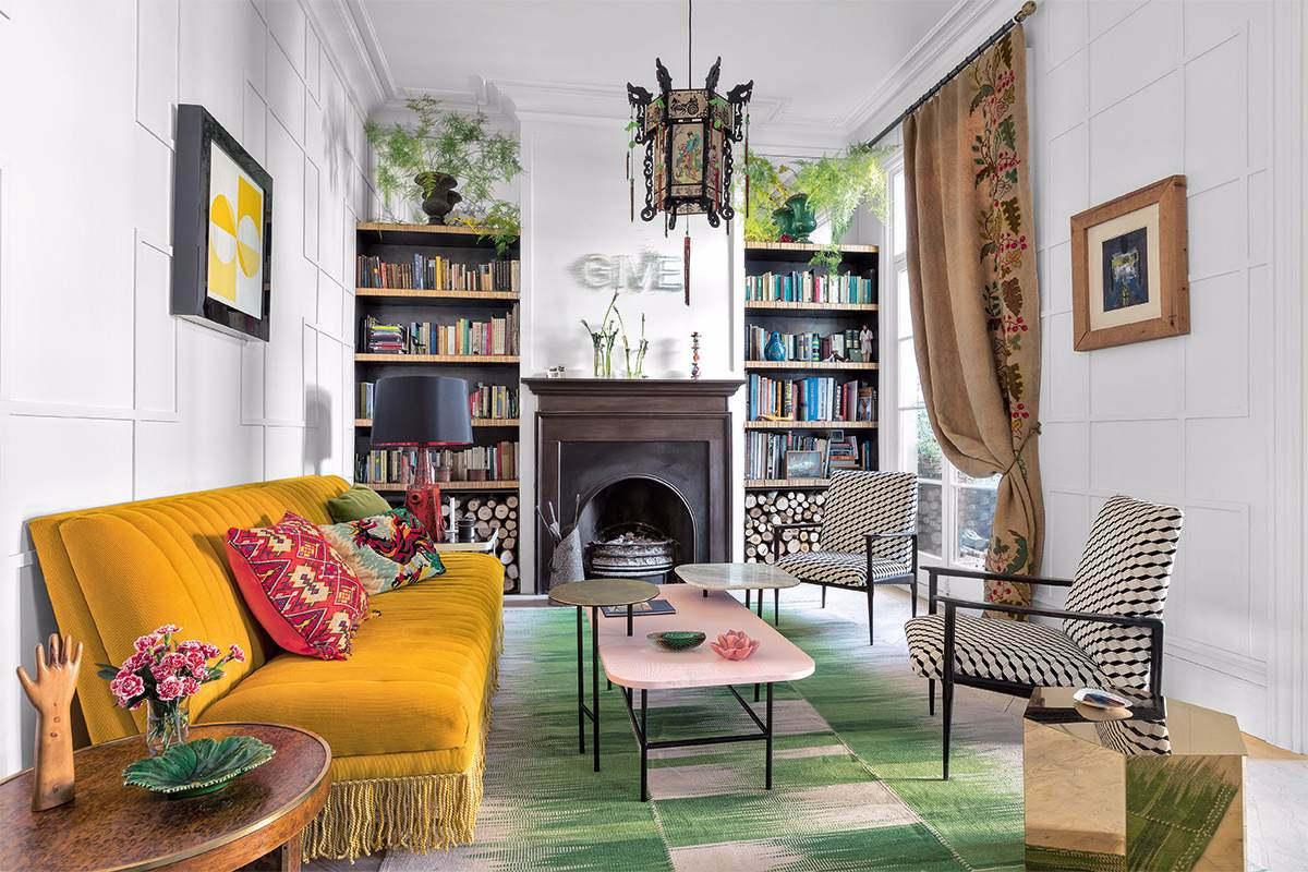 eclectic living room-compressed
