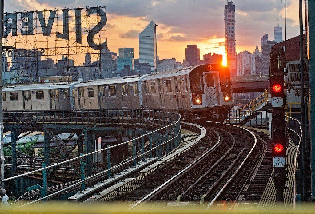 LIC NY Subway Train