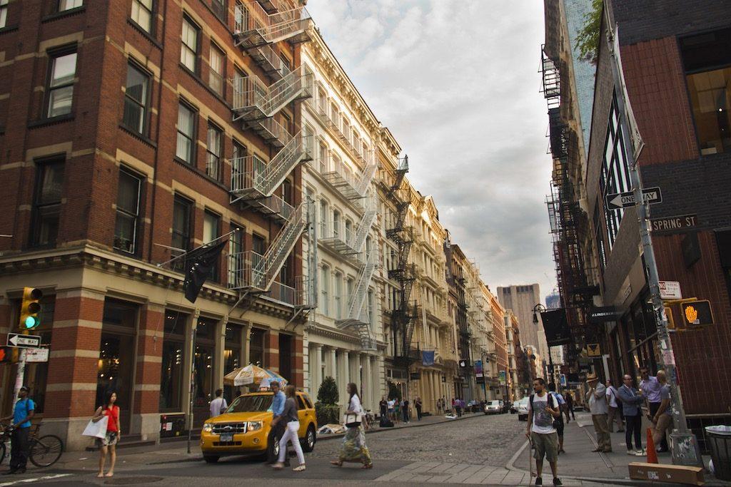 Manhattan SoHo NYC