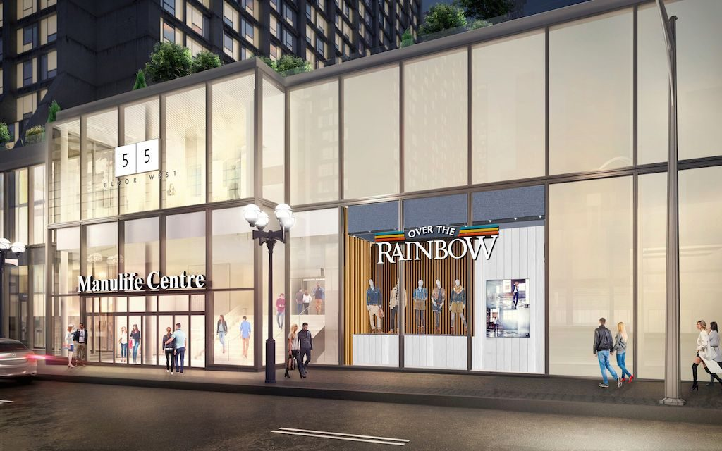 Over The Rainbow Manulife Centre rendering