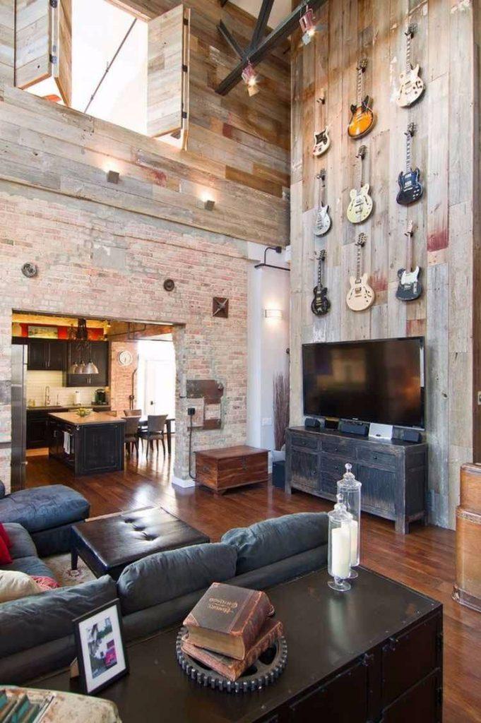 brick and barn wood-compressed
