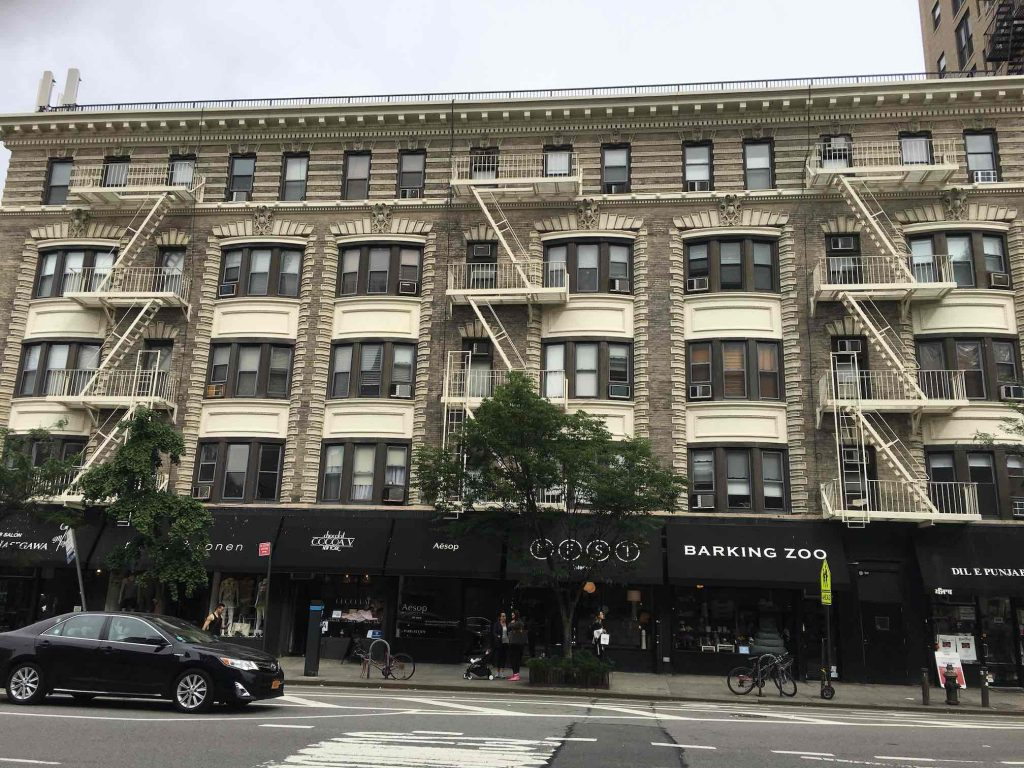 Manhattan residential building west village NYC