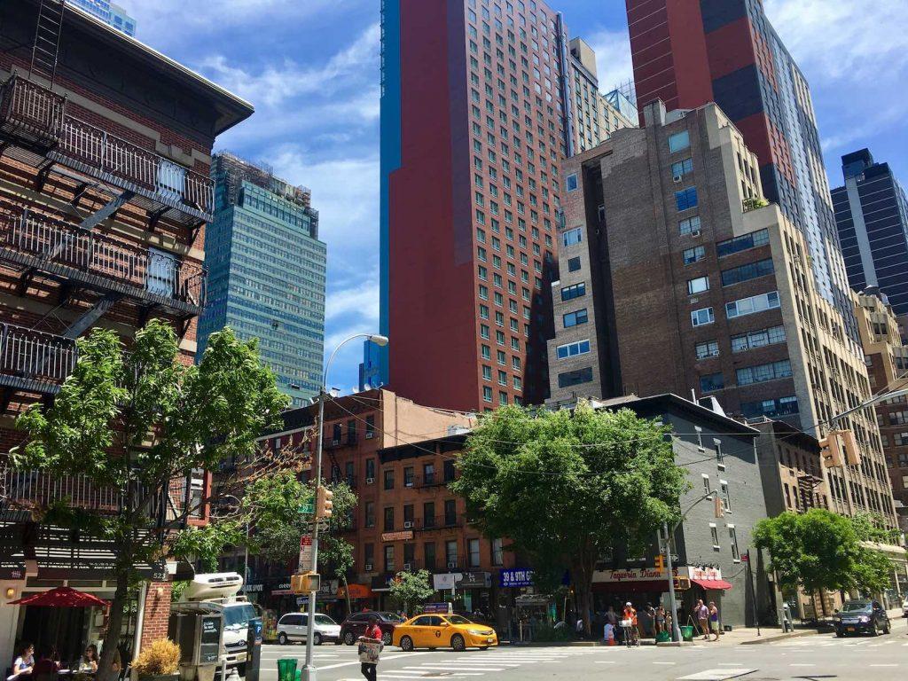 Midtown West Manhattan NYC