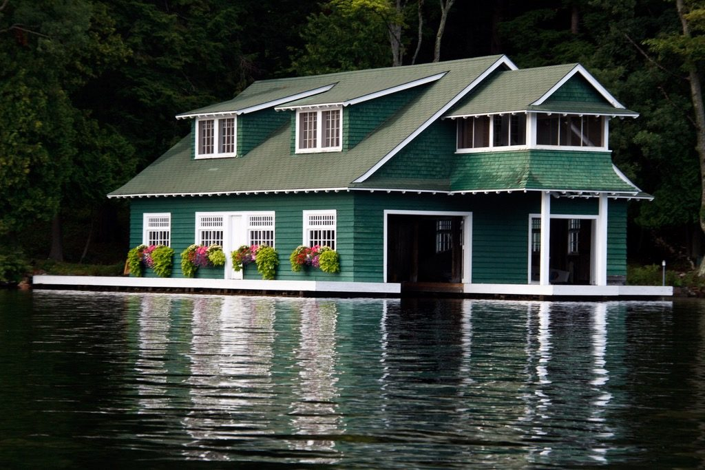 Lake Muskoka Boathouse