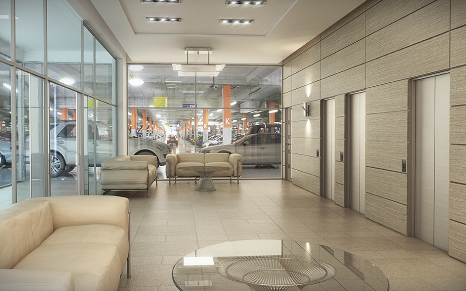 UniversityHeights_ParkingLobby