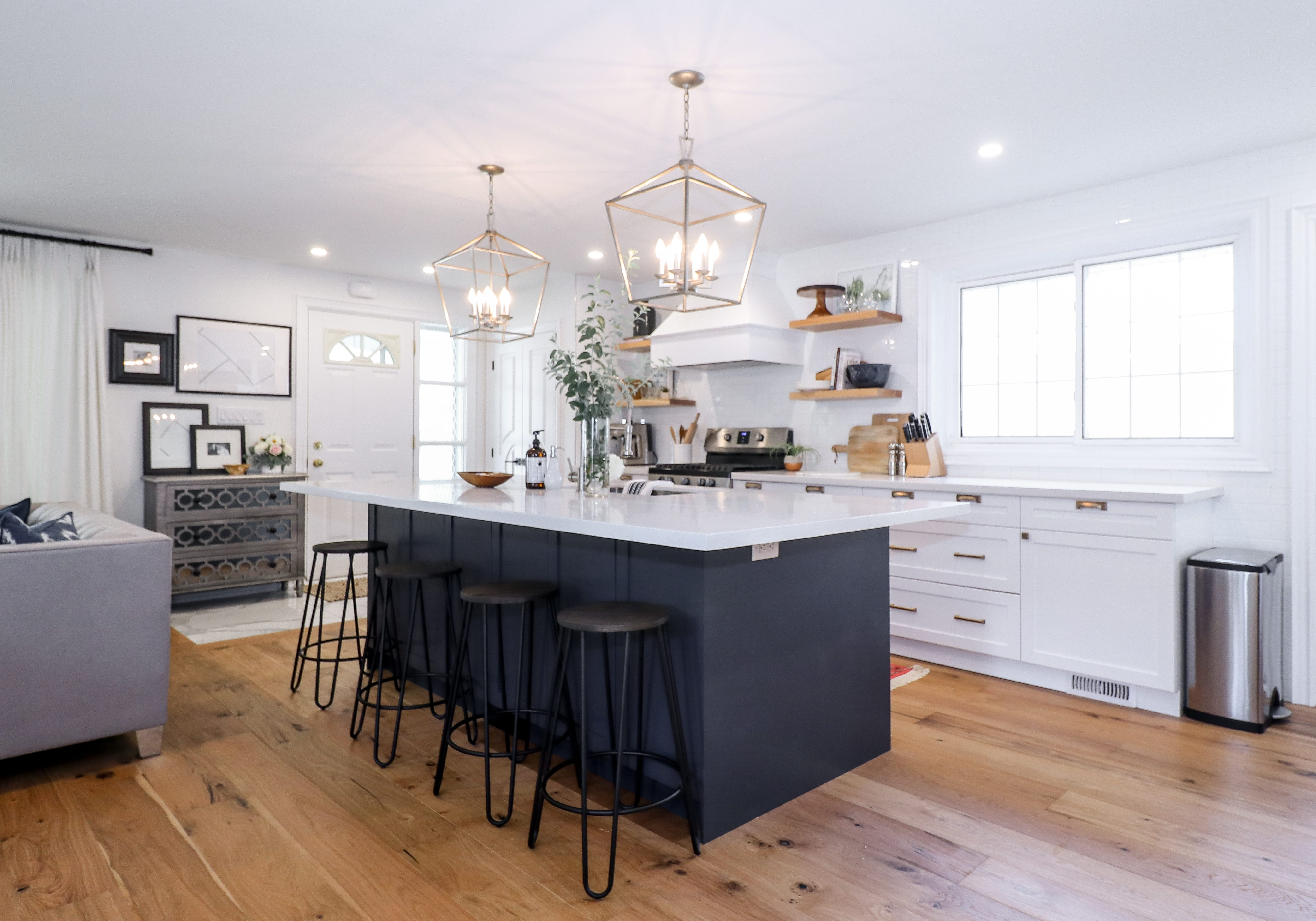 An interior stylist reveals where she splurged and saved on her ...