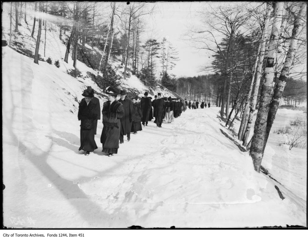 Winter walk in High Park. - [1907?]
