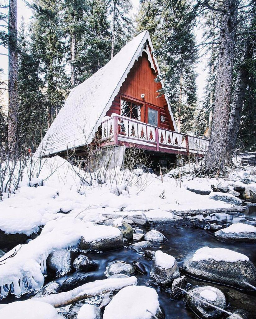 19 snowy cabins you\'ll want to retreat to this winter