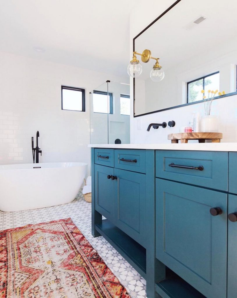 13 inexpensive ways to breathe new life into a boring bathroom