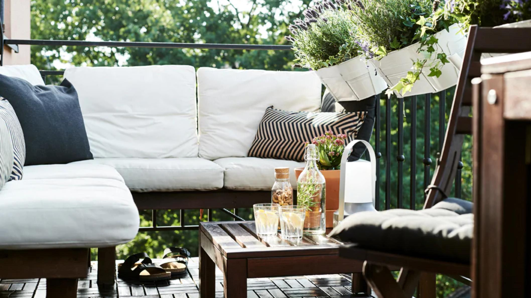 These Are The Best Ikea Products For Small Outdoor Spaces