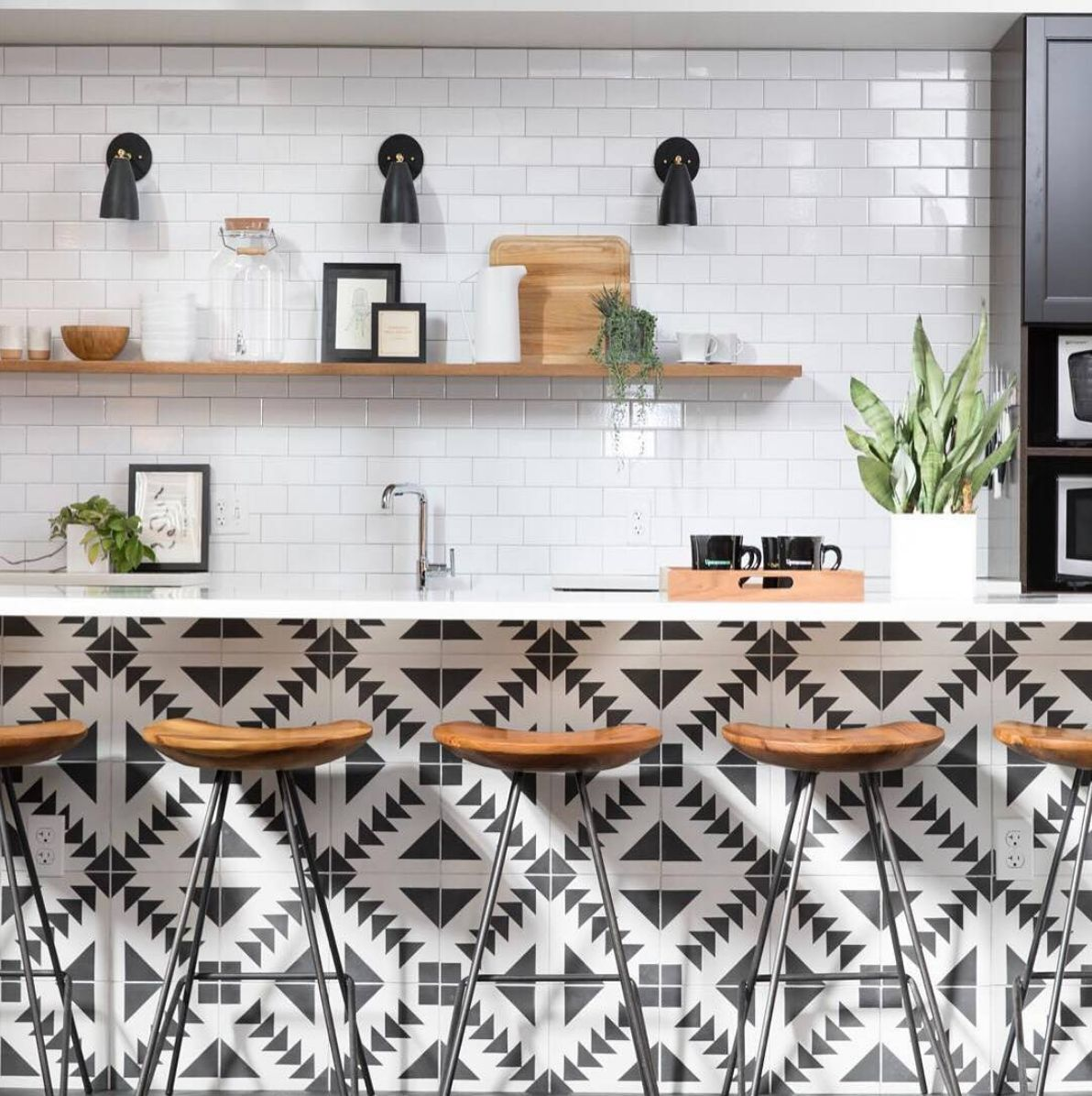 How To Use Peel And Stick Tile In Every Room Of Your House