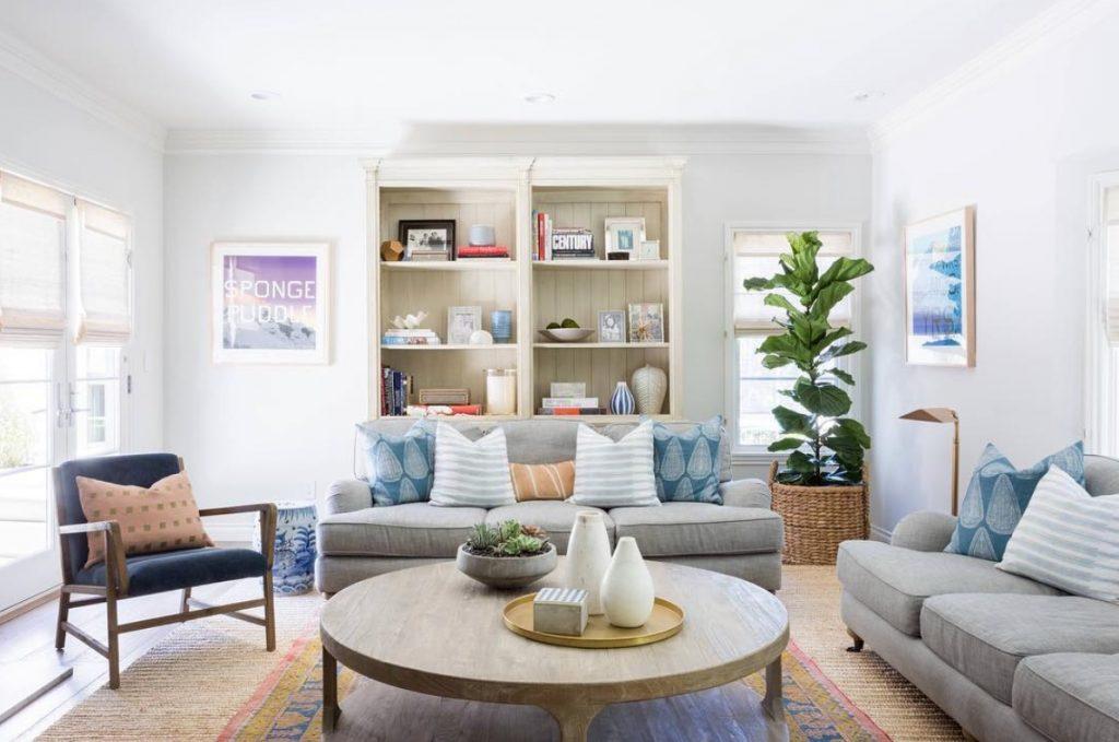 7. Modern-meets-vintage home