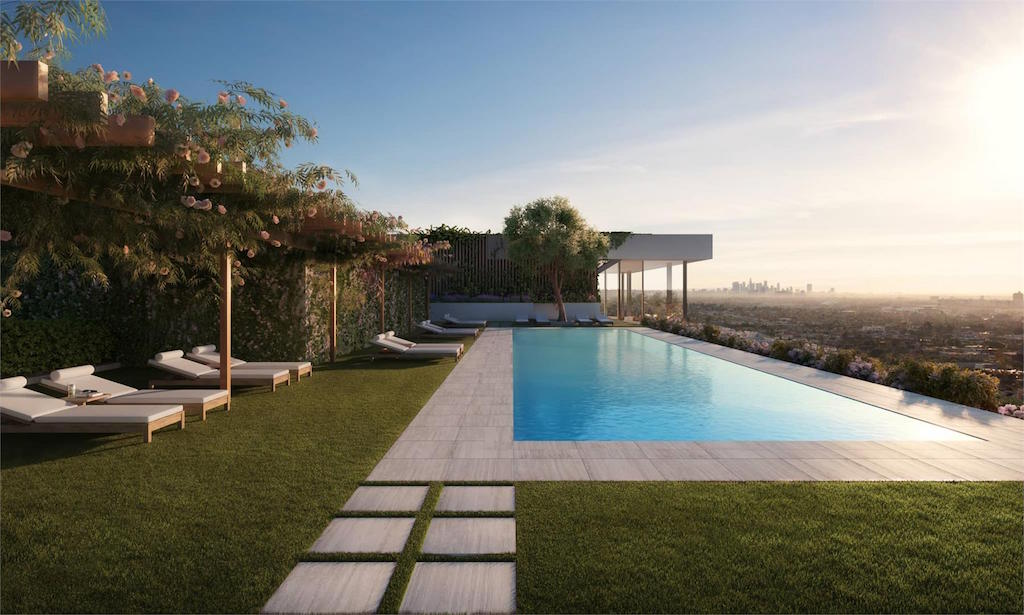 7 New Construction La Condo And Apartment Buildings With Scenic Rooftop Pools