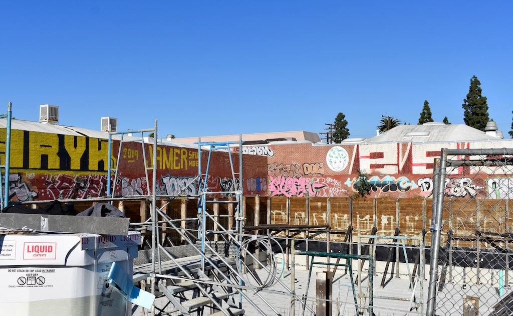 Foundation Ready At Trendy 3434 Wesley Street In Culver City