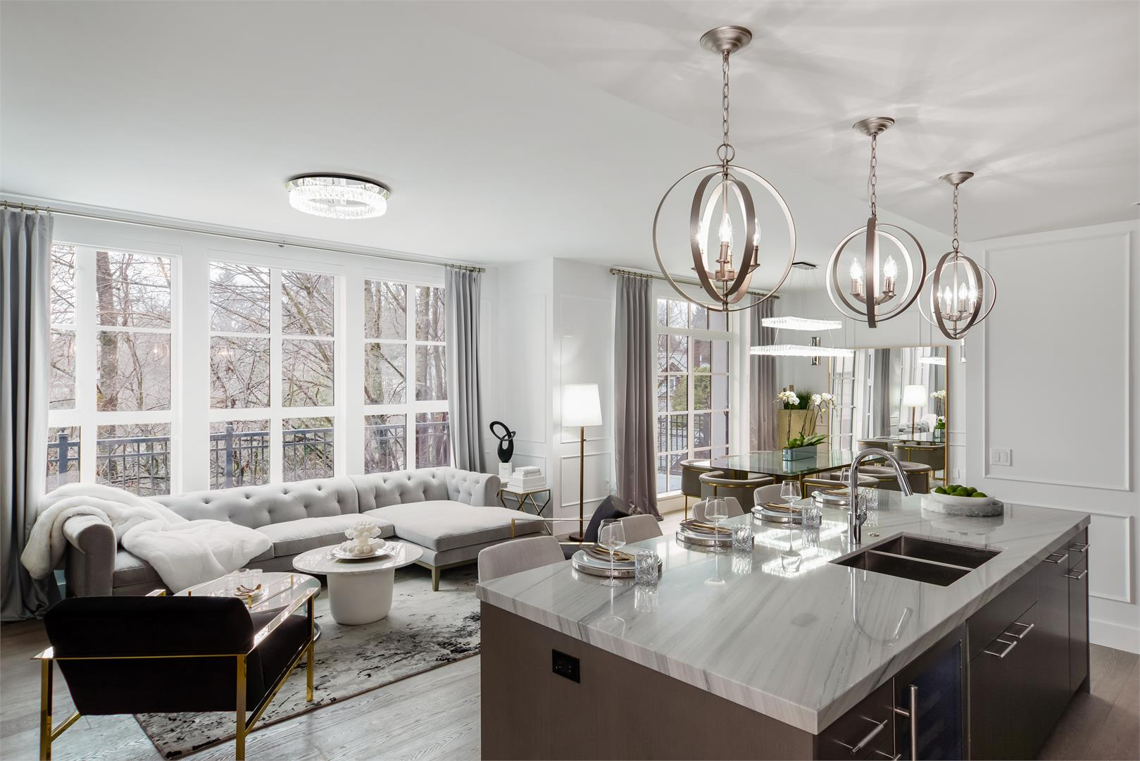 ChateauLaurier_Living_Kitchen