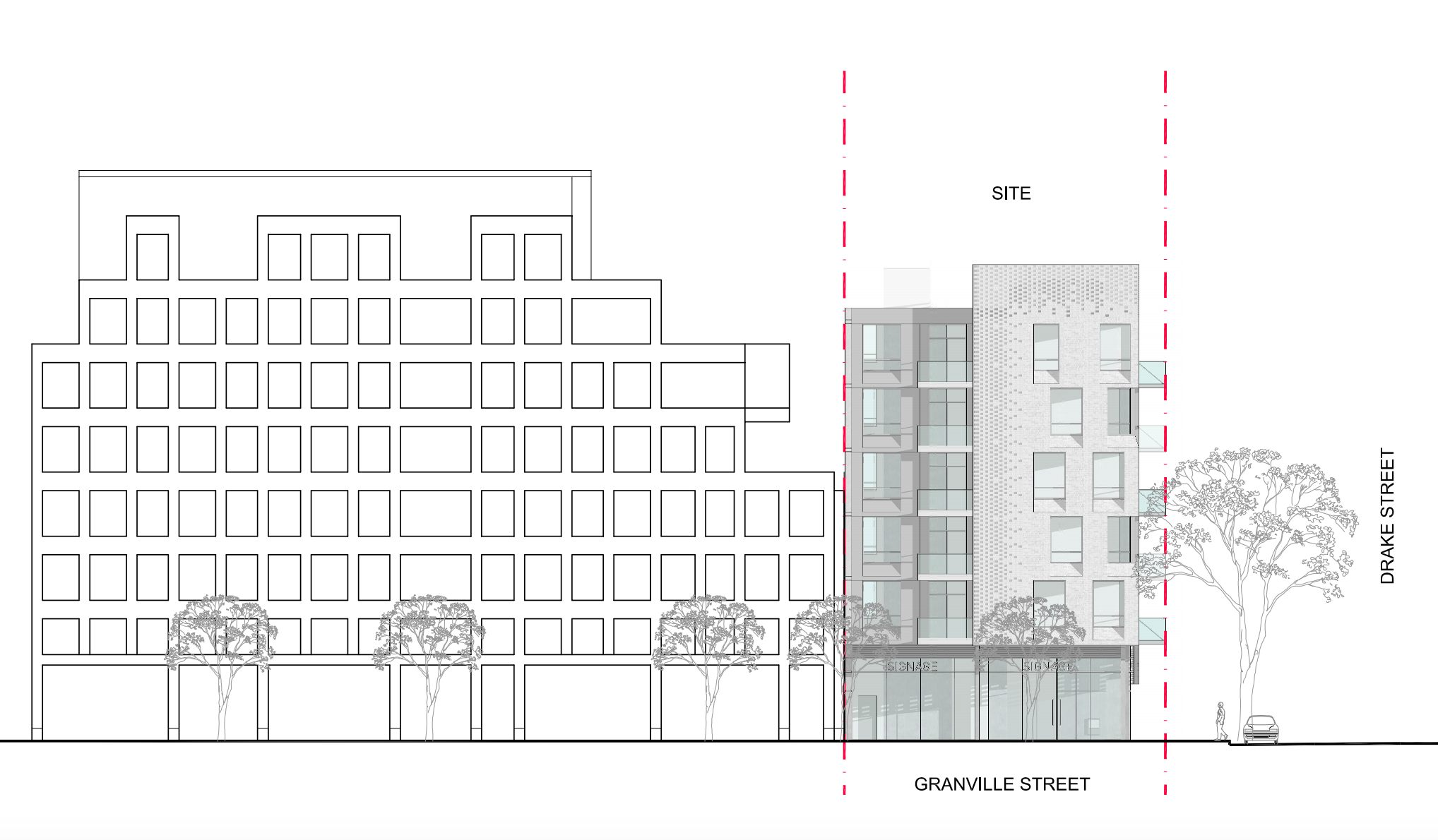 1294 Granville Street_Streetscape