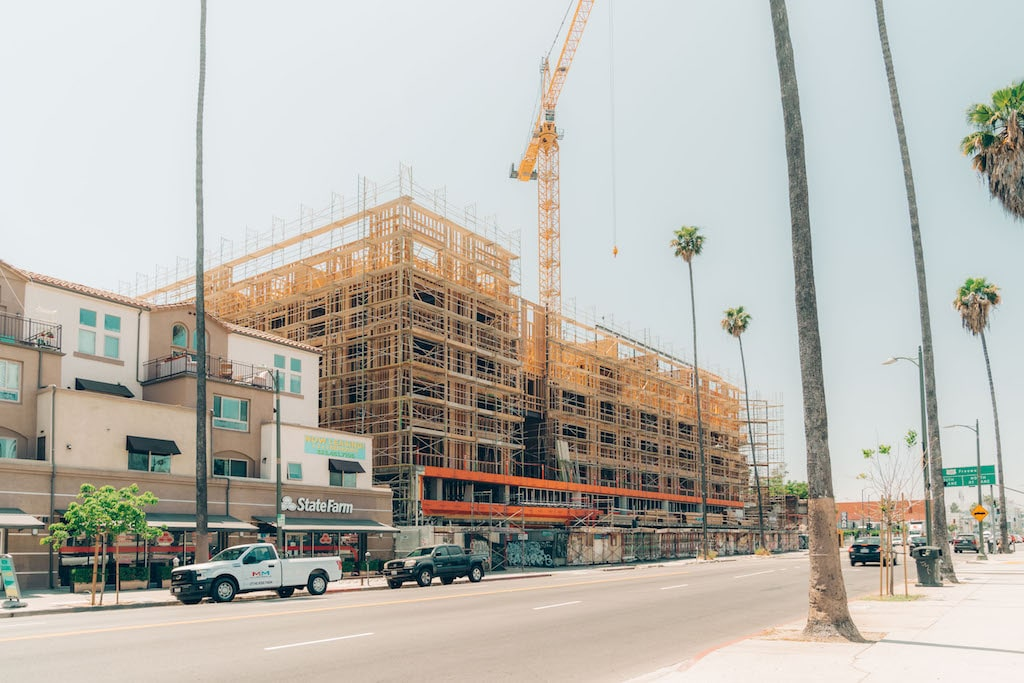 Photo of Mixed-use project in East Hollywood reaches its full height