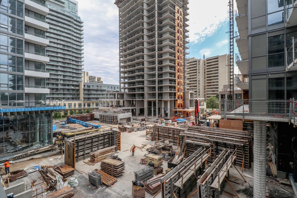 Toronto condo prices sales