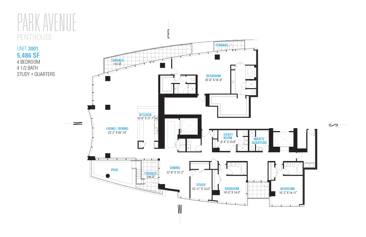 3 8 Million Penthouse In Uptown Galleria Is Houston S Priciest New Condo