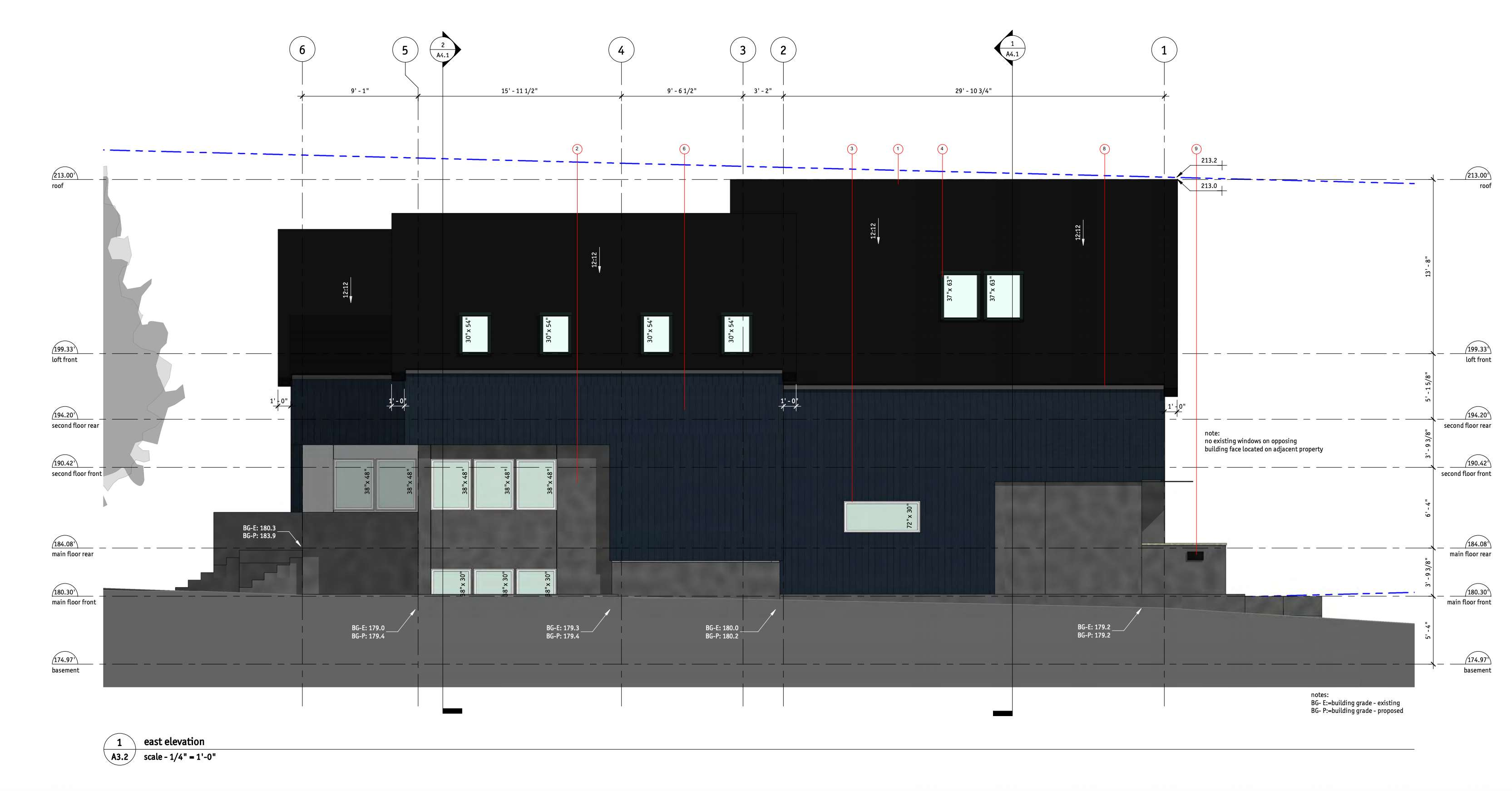 344 West 16th Avenue_East_Elevation