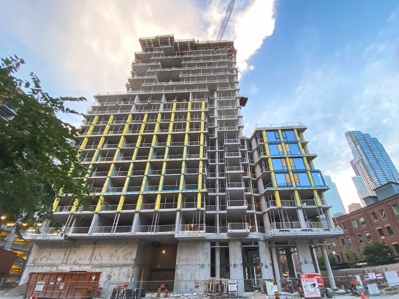 75OnTheEsplanade_Construction1
