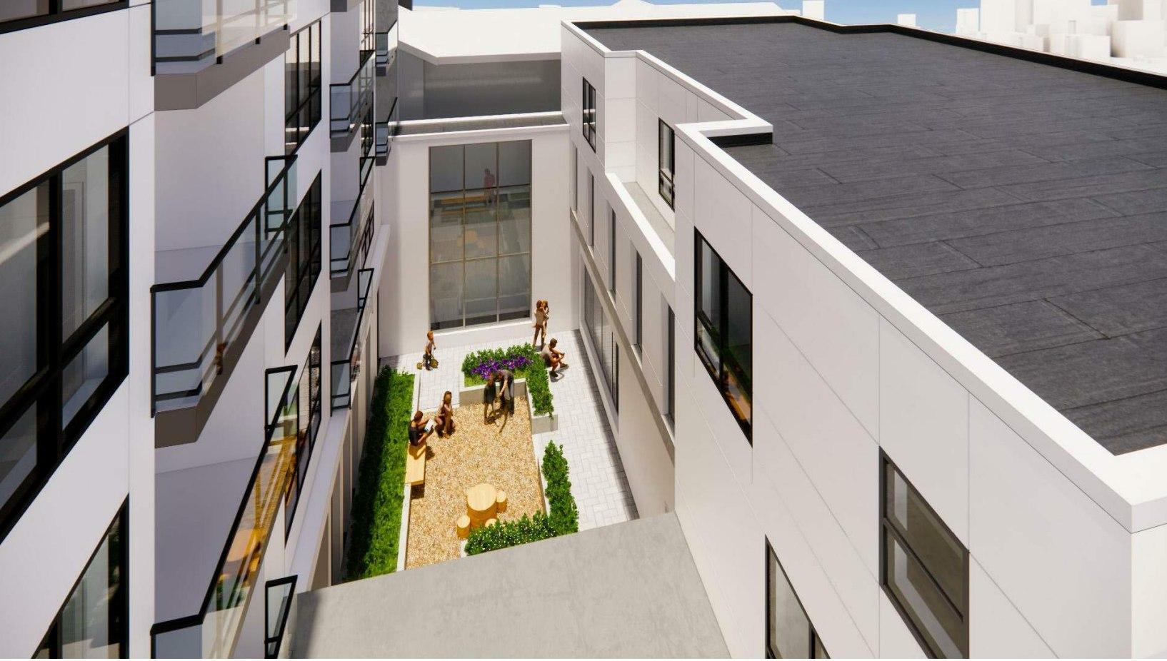 3070 Kingsway_Courtyard