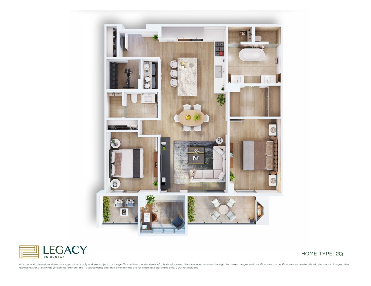 2 bed-2Q-Floorplan