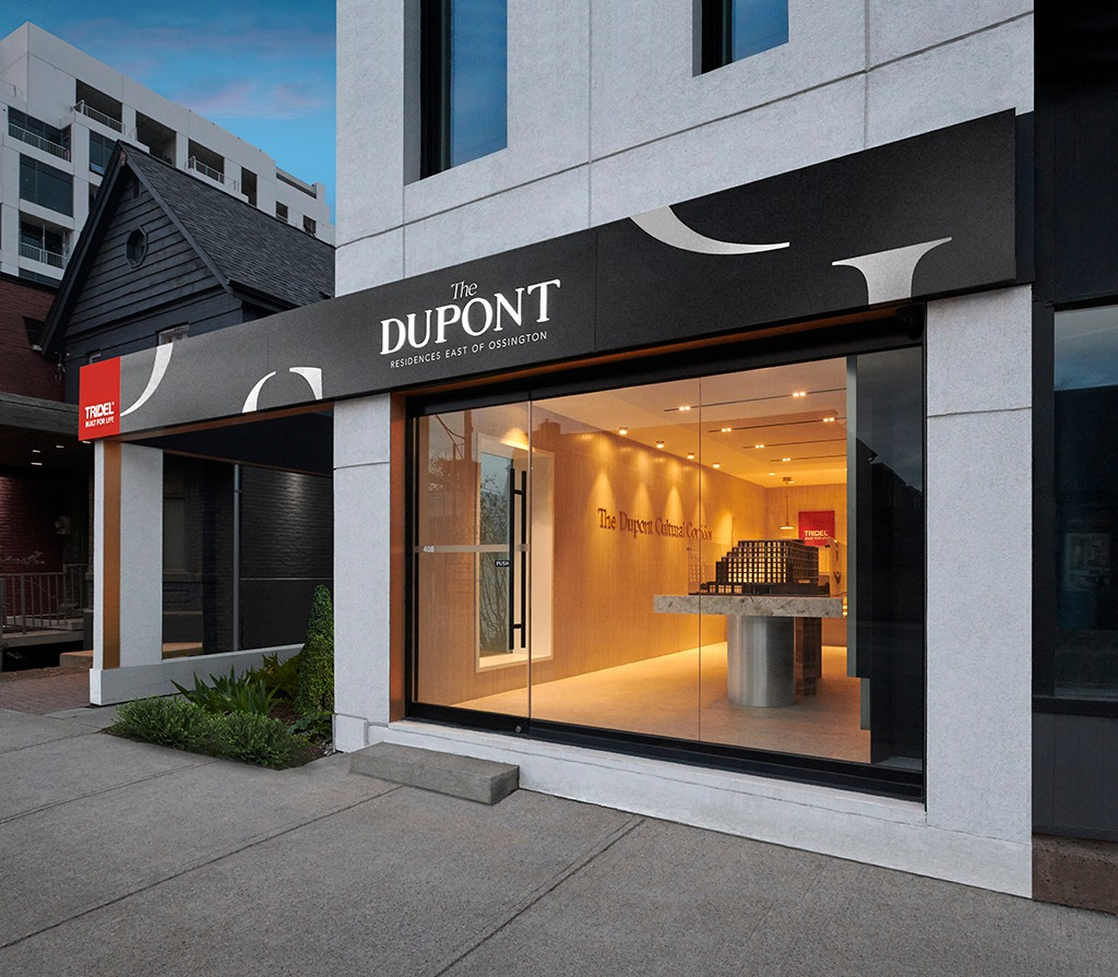The Dupont Sales Exterior