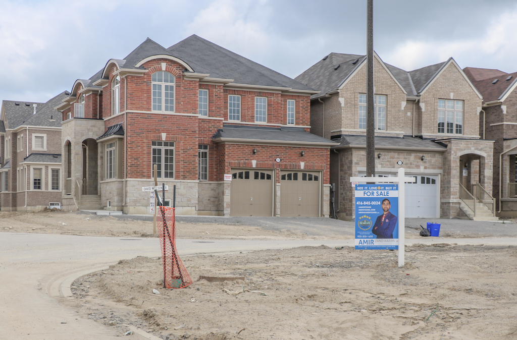 A record-breaking 26% of all single-family homes for sale are new construction