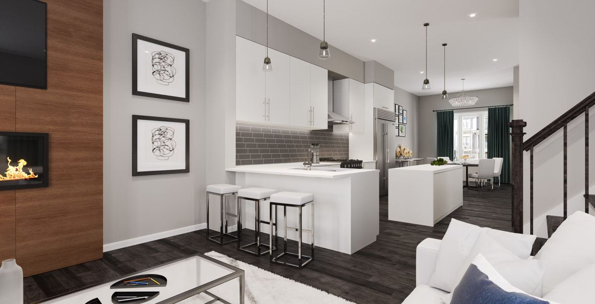 The Ridge at River Mill _KitchenLiving